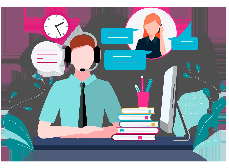 Atender consultar de nuestros clientes de forma rápida, somos consultoría.