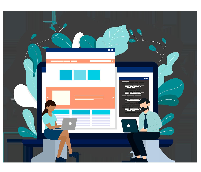 Desarrollo y diseño web, estructuración de contenidos de forma visual teniendo en cuenta la usabilidad del usuario