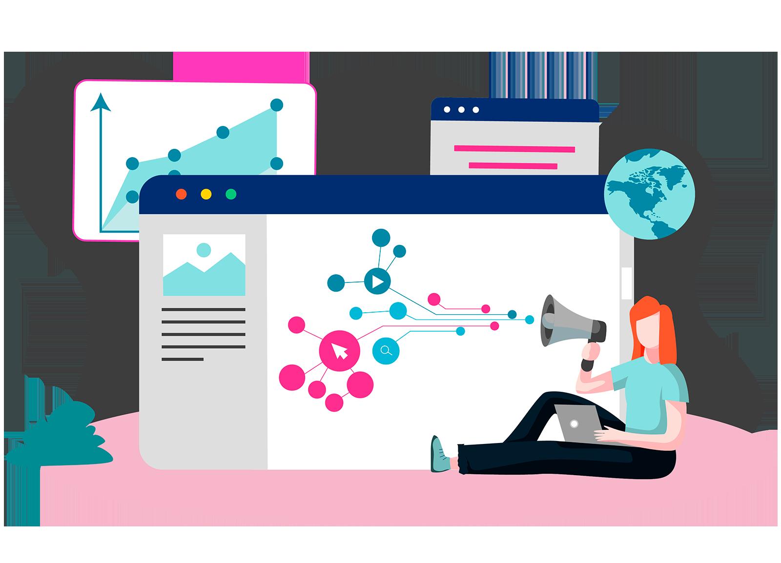 El marketing digital y la publicidad son el altavoz que nos ayuda a hacer llegar el mensaje al cliente