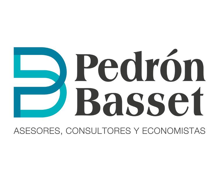 Logotipo para la imagen corporativa de Pedrón Basset